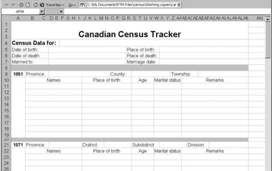Canadian Census Tracker