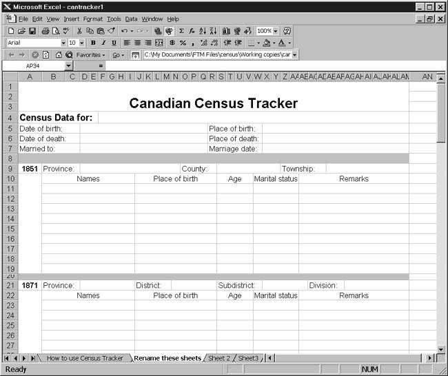CensusTools Canadian Census Tracker