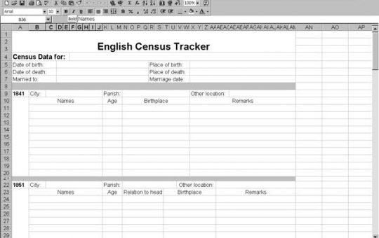 England Census Tracker