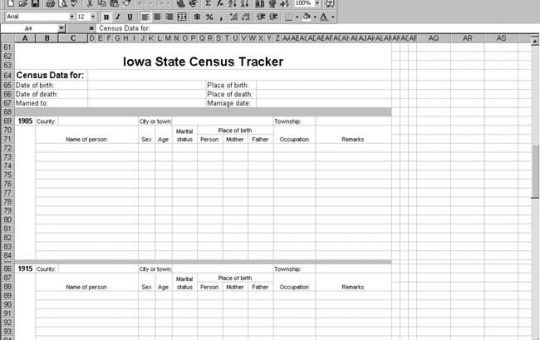 Iowa Census Tracker