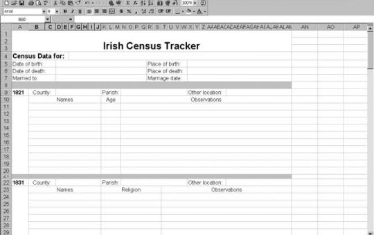 Ireland Census Tracker