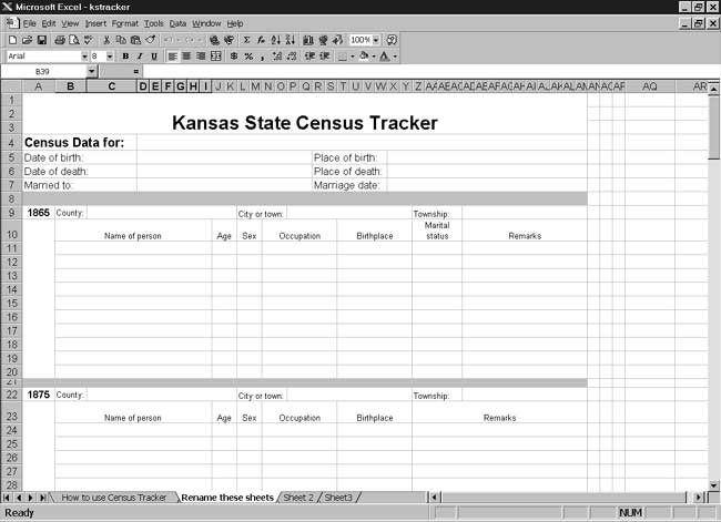CensusTools Kansas Census Tracker