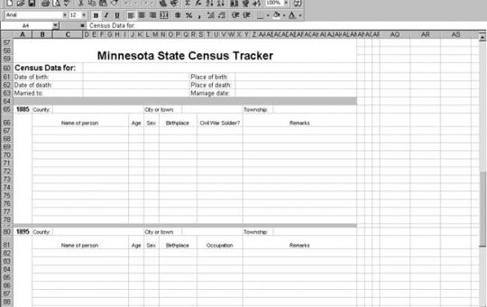 Minnesota Census Tracker
