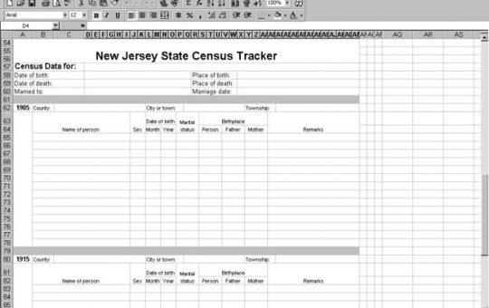 New Jersey Census Tracker