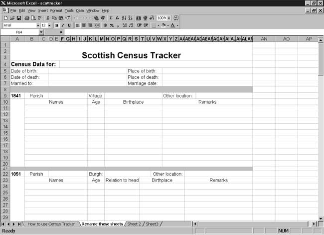CensusTools Scottish Census Tracker