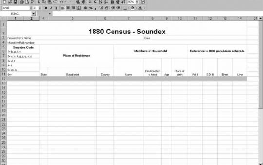 1880 US Census Soundex