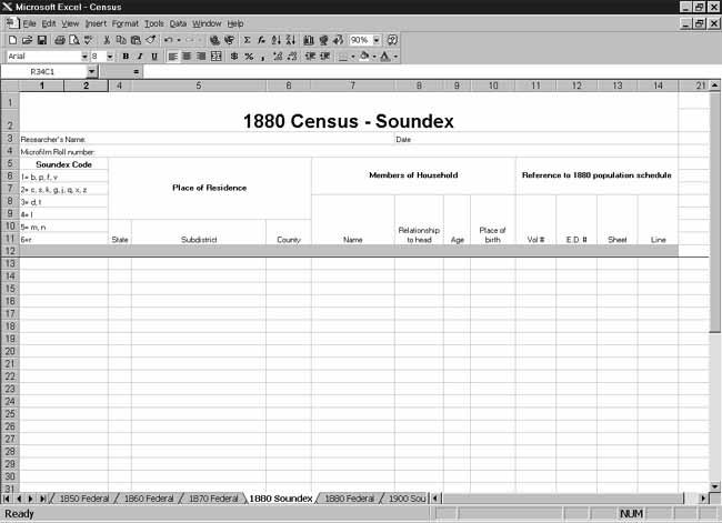 CensusTools 1880 US Census Soundex