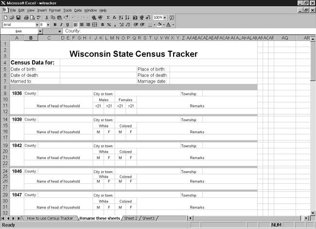 CensusTools Wisconsin Census Tracker