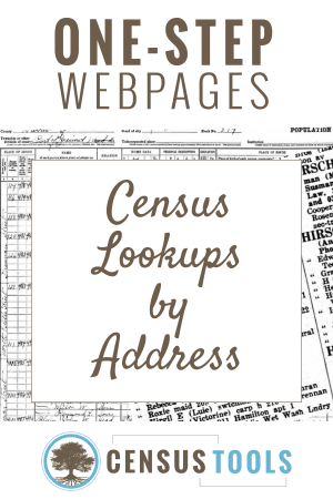 Find a Census Listing by Street Address