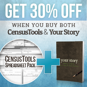 Save when you purchase both CensusTools AND Your Story