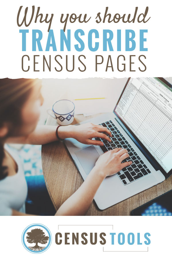 Why you should transcribe census records for genealogy